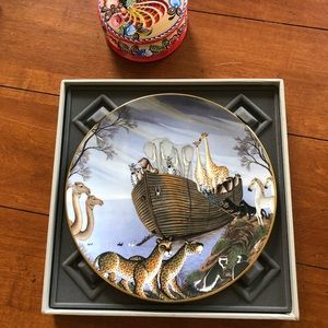Royal Doulton The Ark Limited Edition Novoa Plate